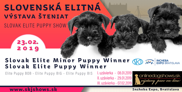 Slovenská elitná výstava šteniat 2019